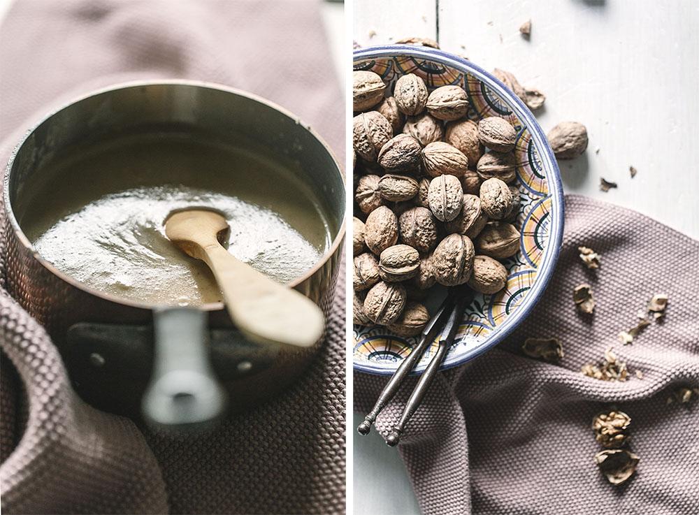 Intxaursalsa o crema de nueces tradicional vasca