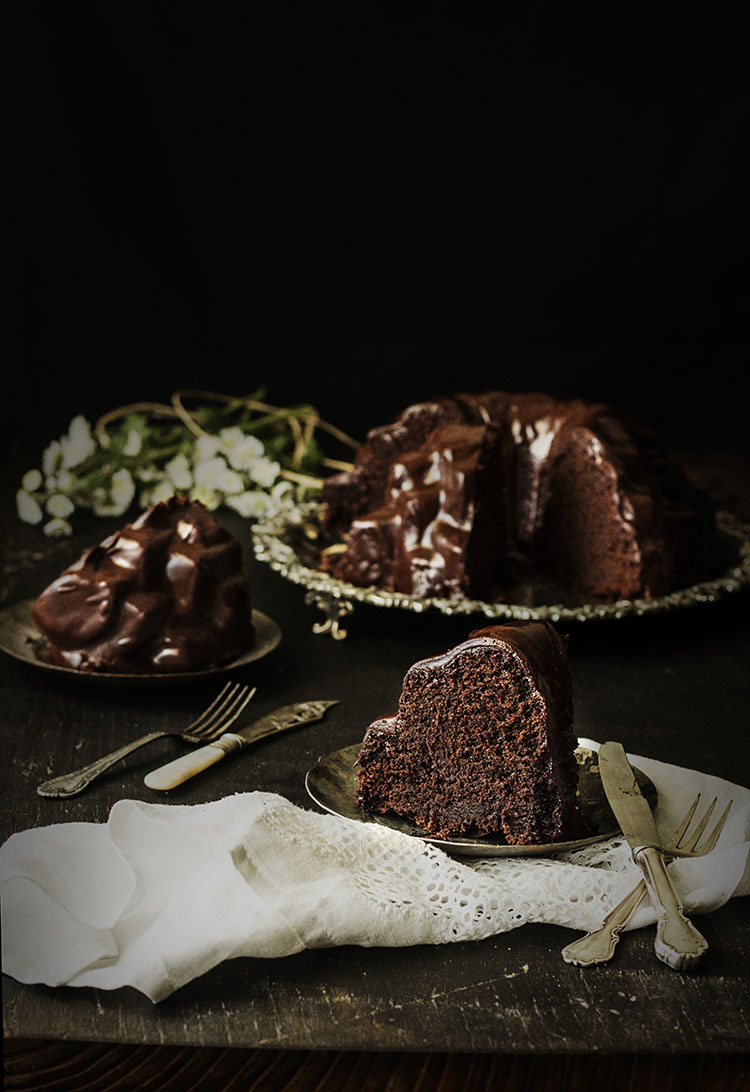 Bundt Cake de Chocolate 5