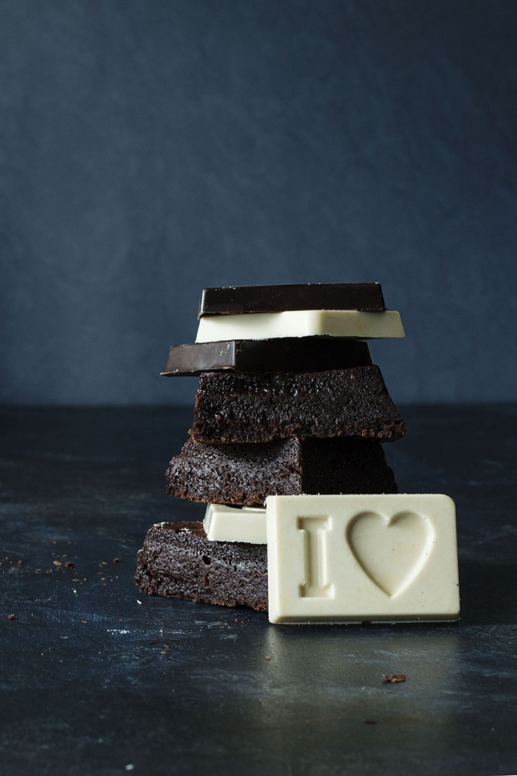 "BROWNIE DE FRAMBUESAS Y CHOCOLATINAS ""I love chocolat"""