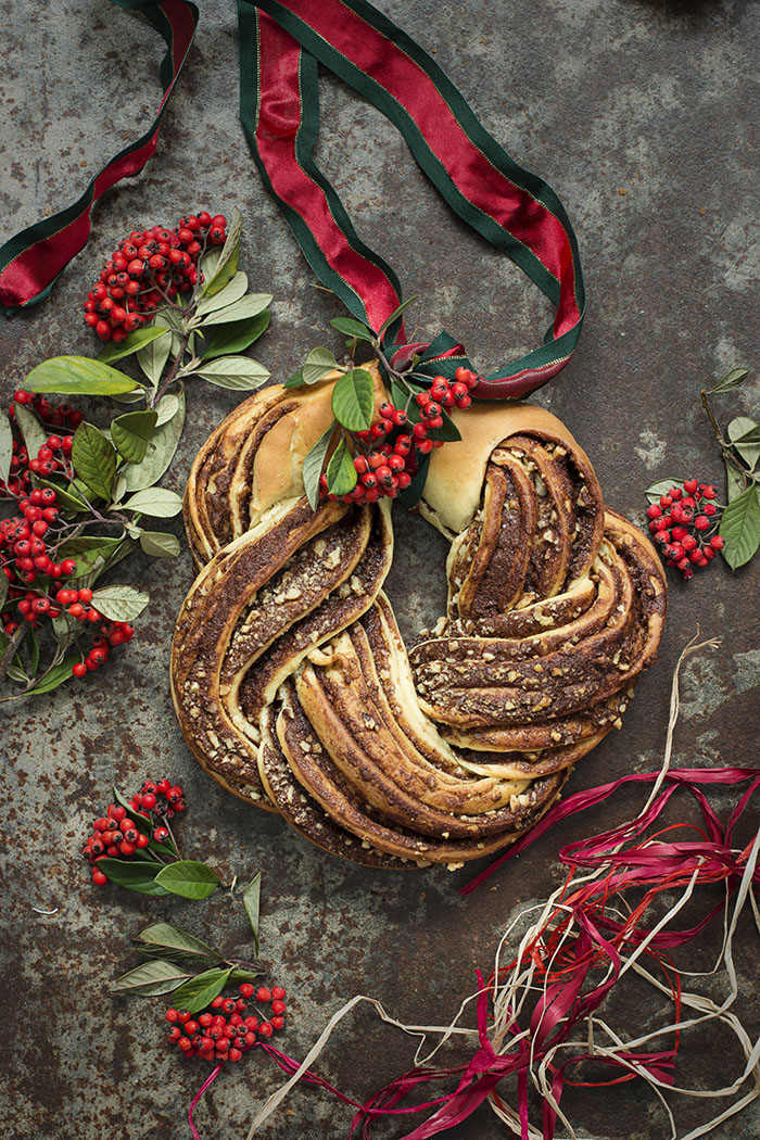 ESTONIAN KRINGLE DE CANELA Y NUECES