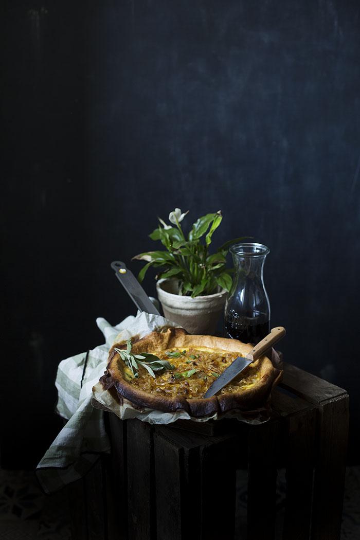 TARTA DE CEBOLLA CARAMELIZADA Y QUESO. Cómo caramelizar Cebolla