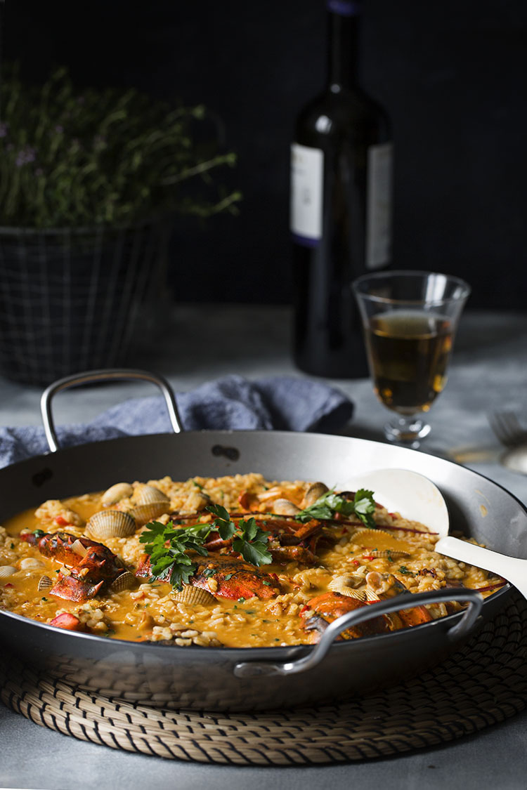 Arroz Caldoso De Bogavante Y Berberechos Sweet And Sour