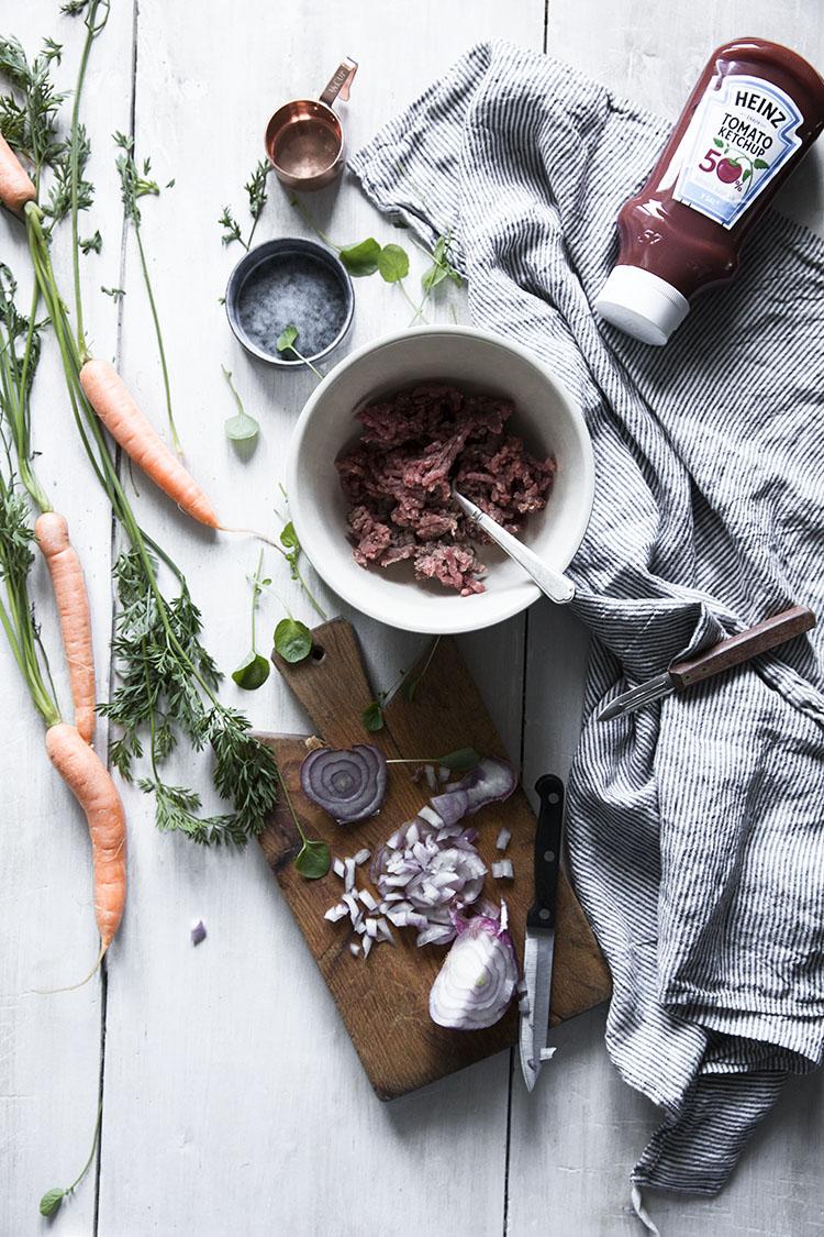 Como hacer el pastel de carne con setas
