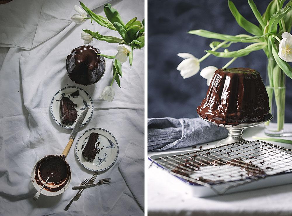 pastel de chocolate casero 2