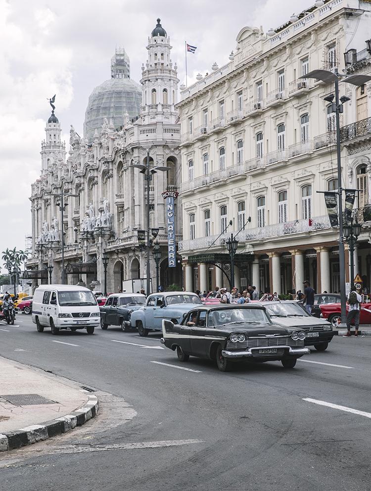 La habana Cuba. Parque Central