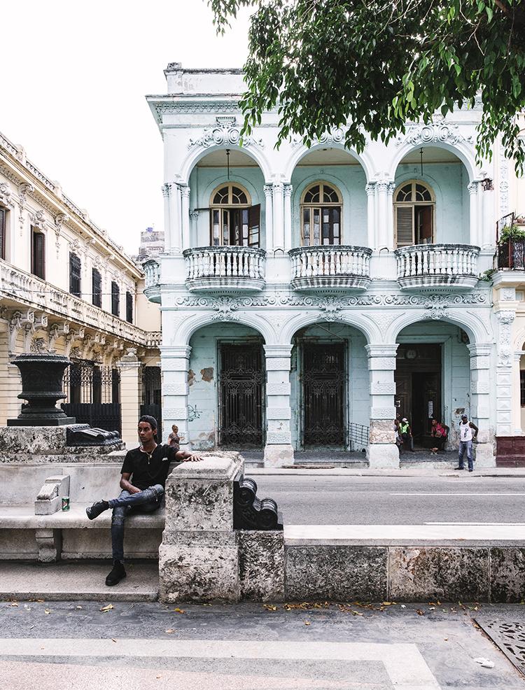 La Habana Cuba. Paseo Prado o José Martí