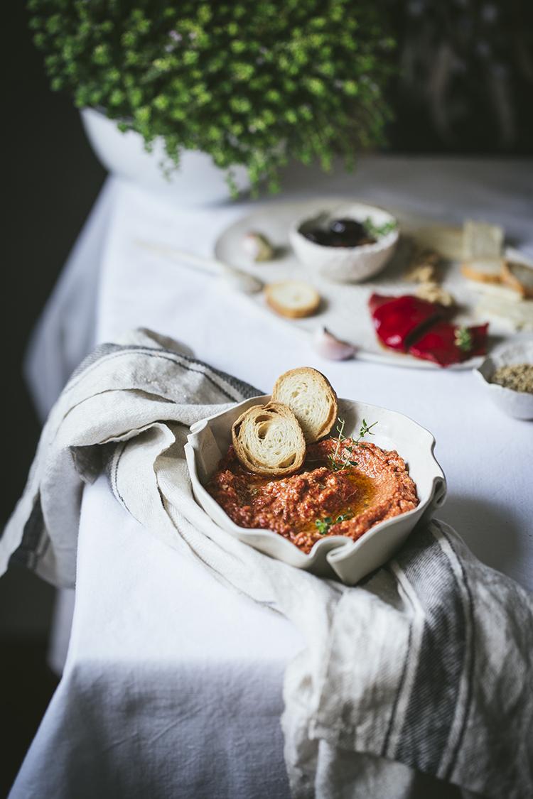 muhammara crema de pimientos y nueces 1