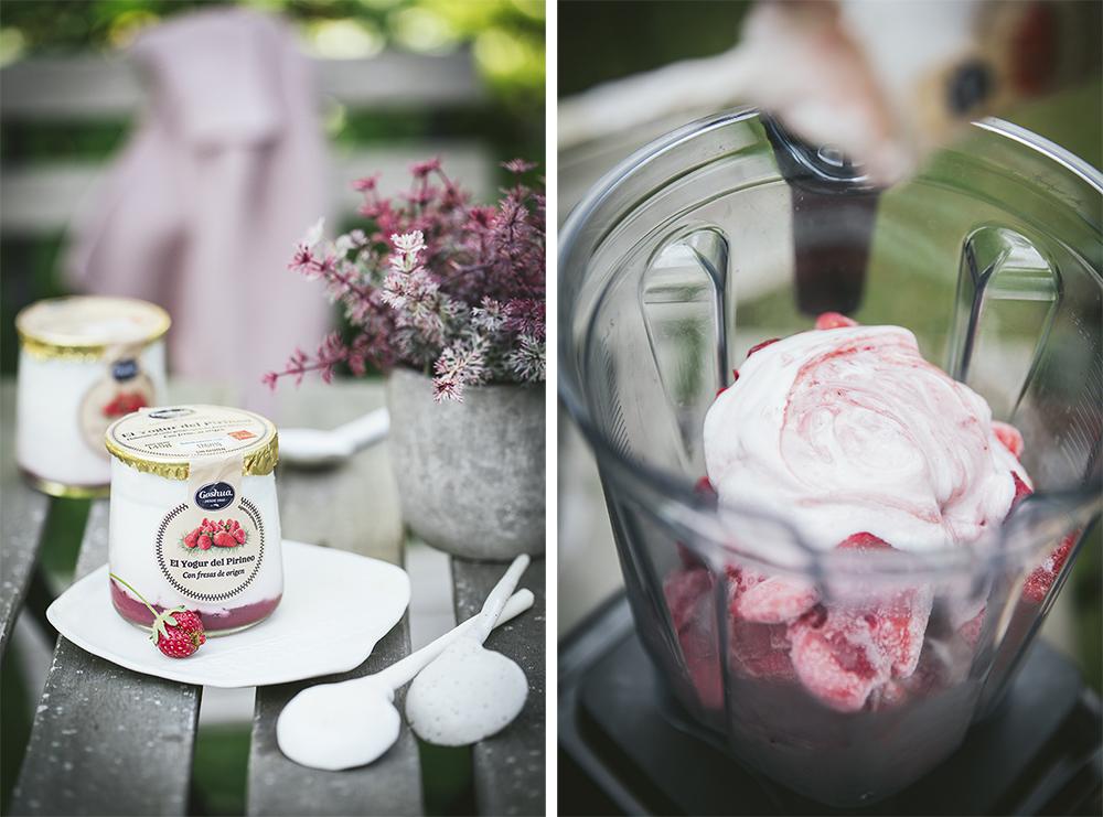 helado de yogurt cremoso paso a paso