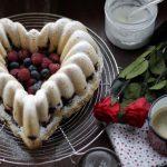 «SAN VALENTíN» BUNDT CAKE……. DE FRUTOS ROJOS