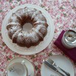 BUNDT CAKE DE CASTAÑAS RELLENO.