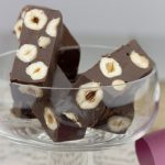FUDGE «EXPRESS» DE CHOCOLATE Y AVELLANAS