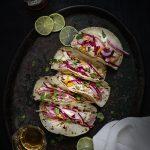 TACO DE CAMARONES. Cómo diferenciar un Taco Mexicano de un Taco Tex-Mex